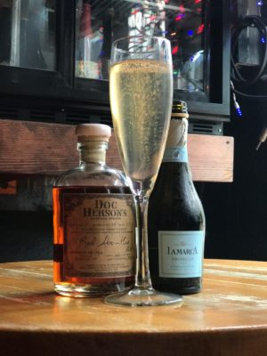 Hemingway Champagne - Doc Herson's Absinthe and LaMarca Prosecco