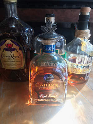 Canadian Whiskey, Caribou Crossing, Pike Peak, Canadian Club, Crown Royal