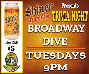 Broadway Dive Trivia Night
