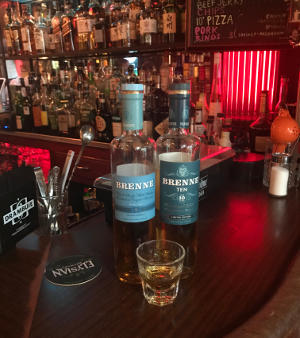 Brenne Single Malt at Dive Bar