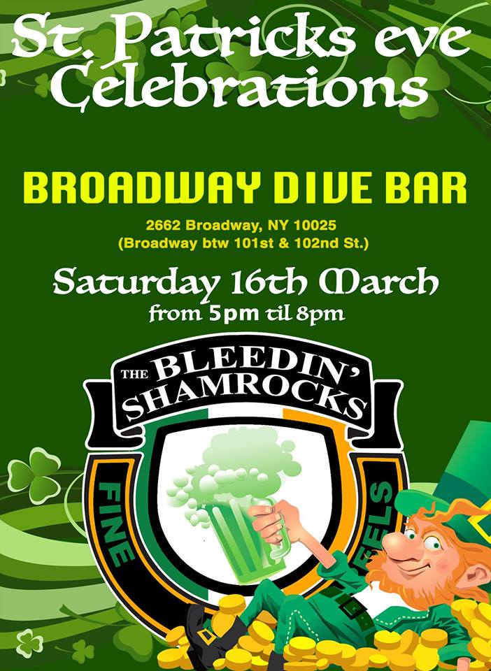 Live Irish Music Celebrating St. Paddy's Day