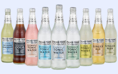 Exotic Flavored Tonic Water Cocktail Mixers