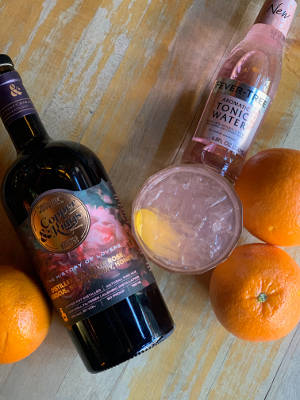 Copper & Kings Gin with Exotic Fever Tree Mixer